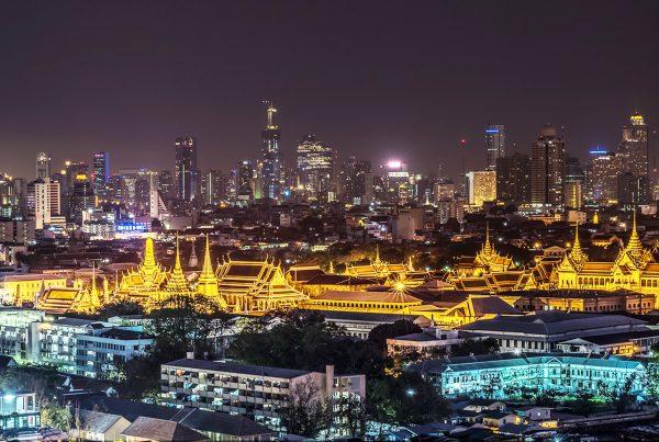 Bangkok by night Thailand