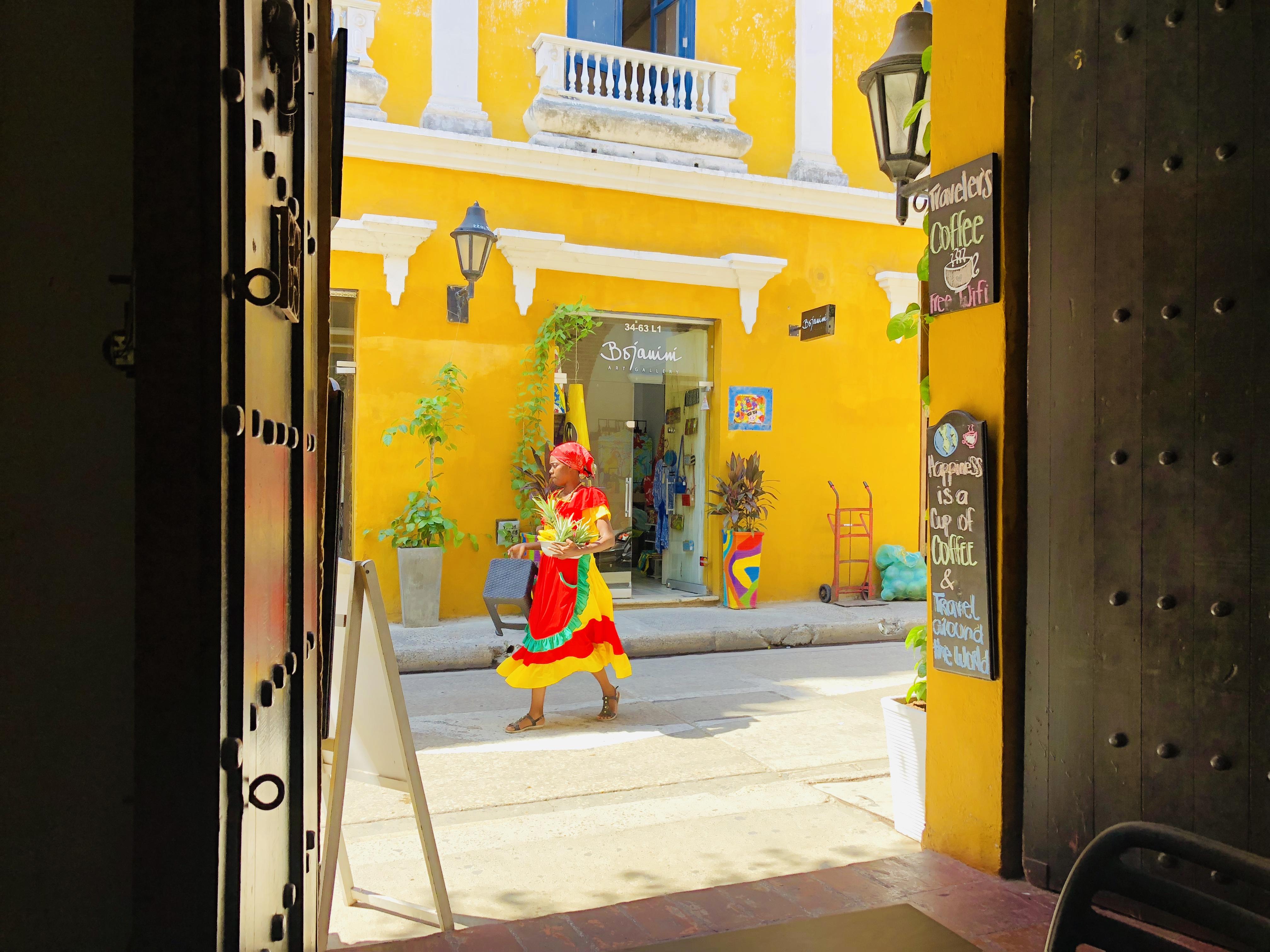 Charmin' Cartagena.