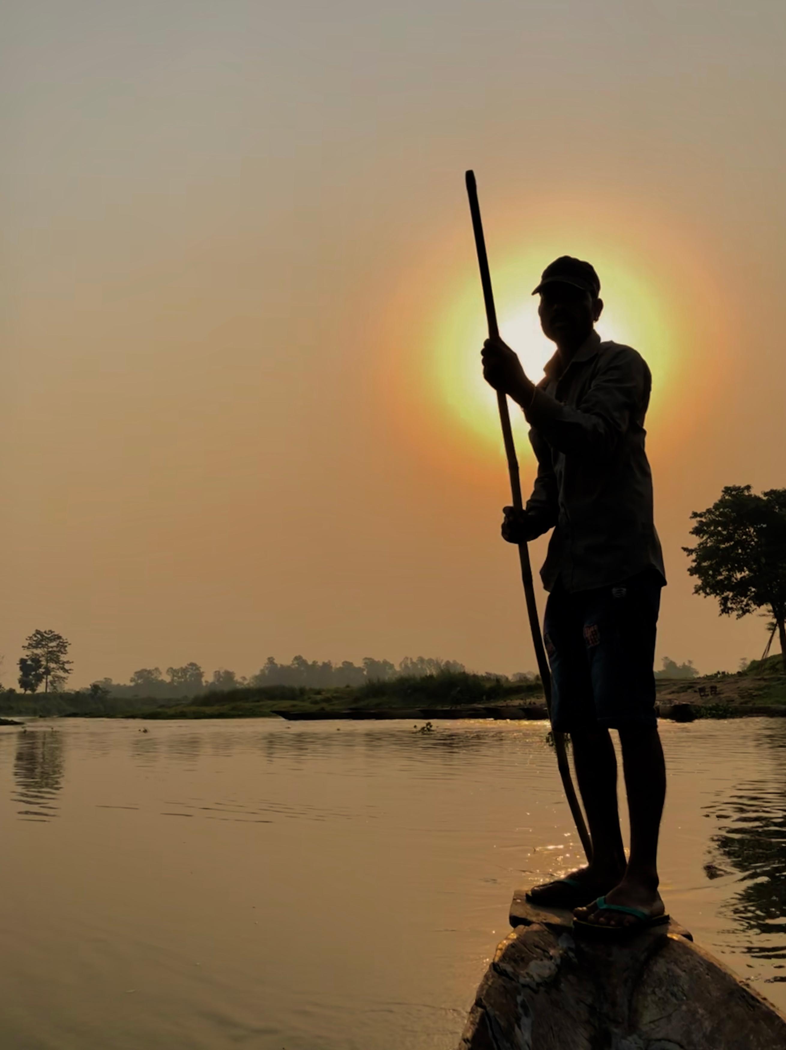 Rapti River Canoe.