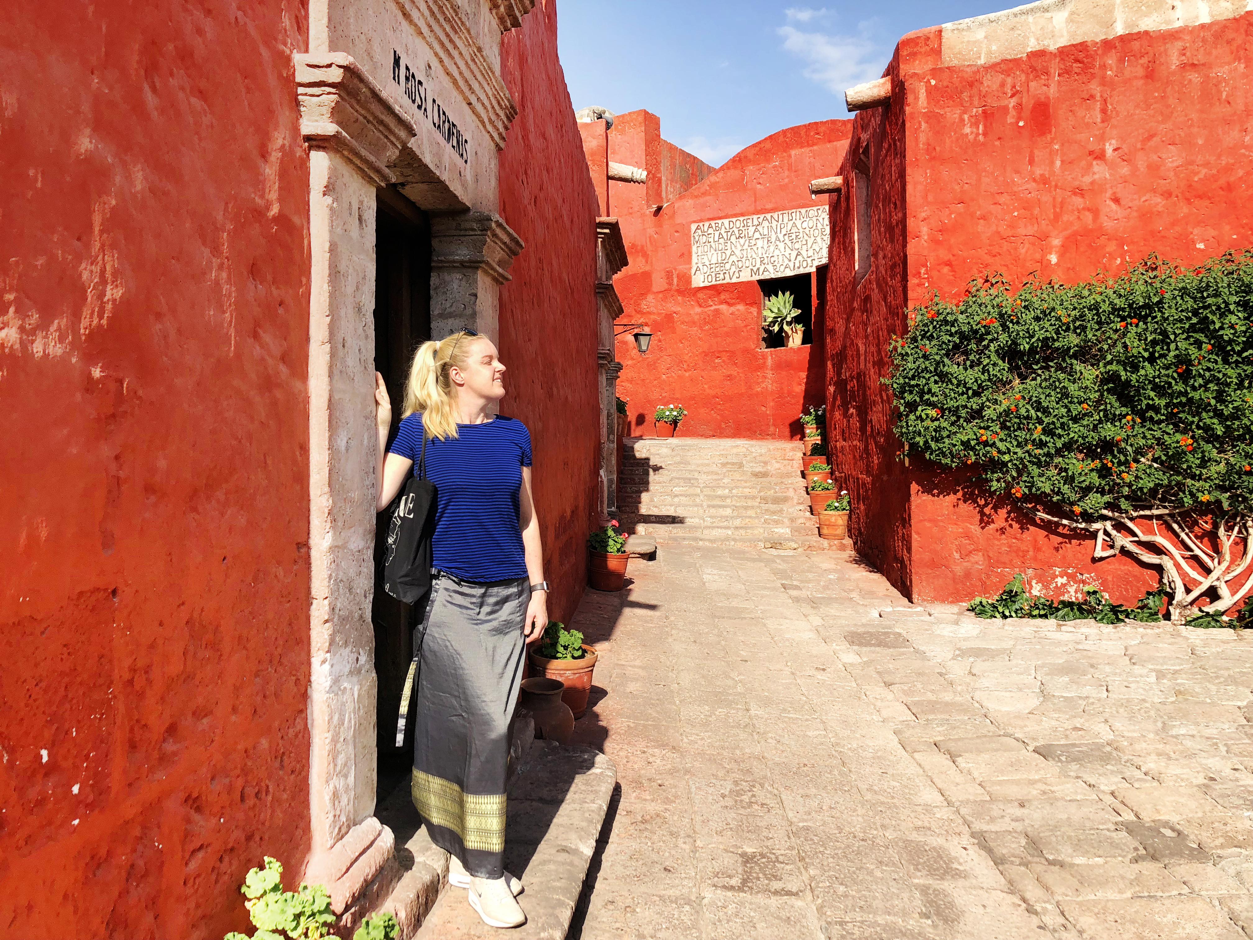 Monastery colors