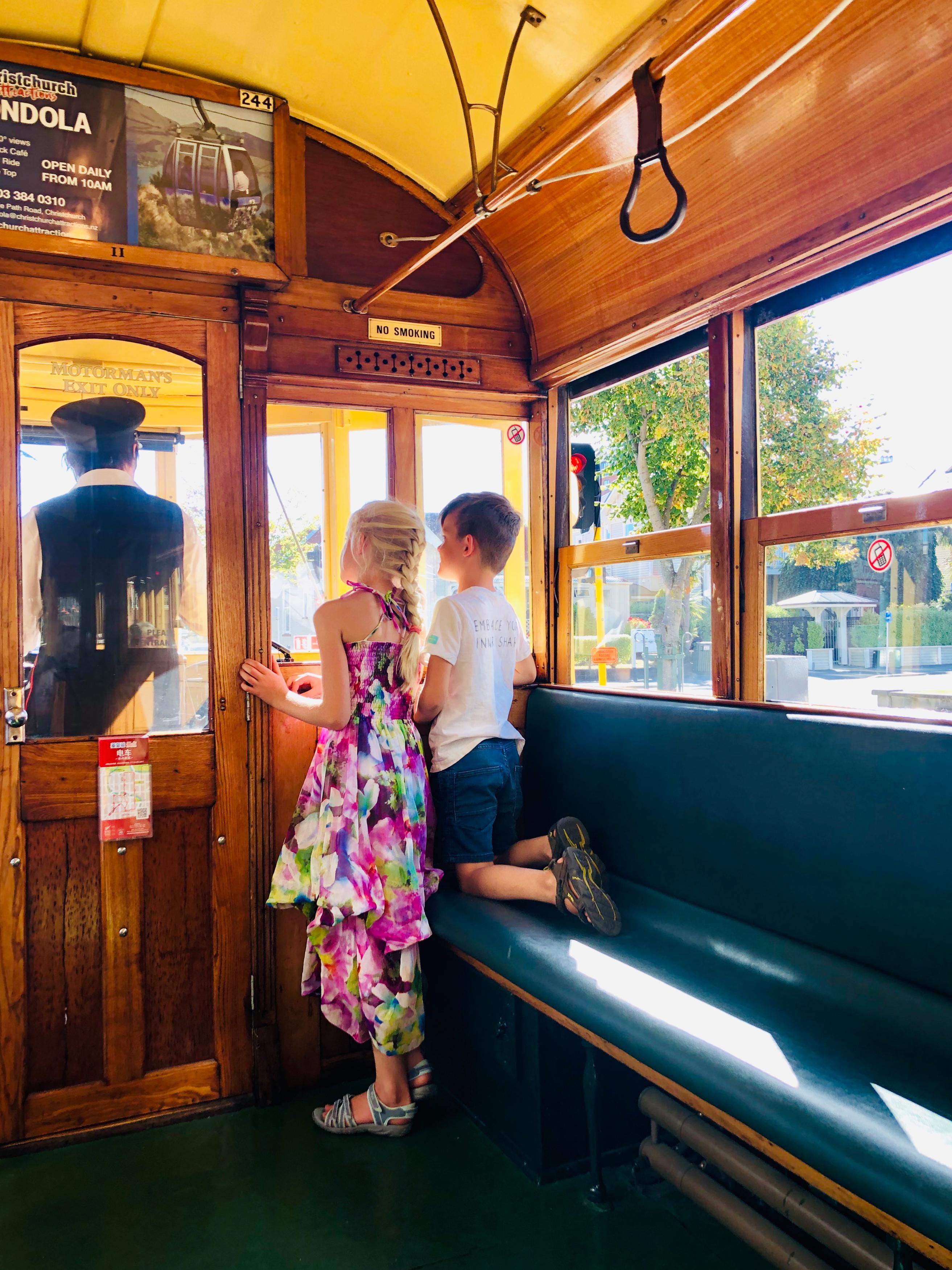 Tram Christchurch.