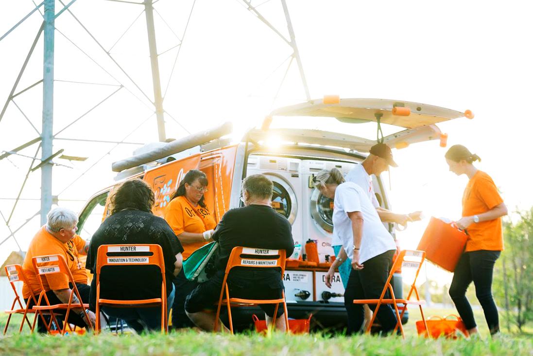 Orange Sky Community.